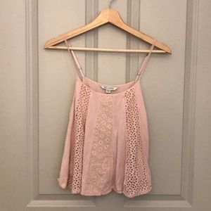 American Eagle Baby Pink top